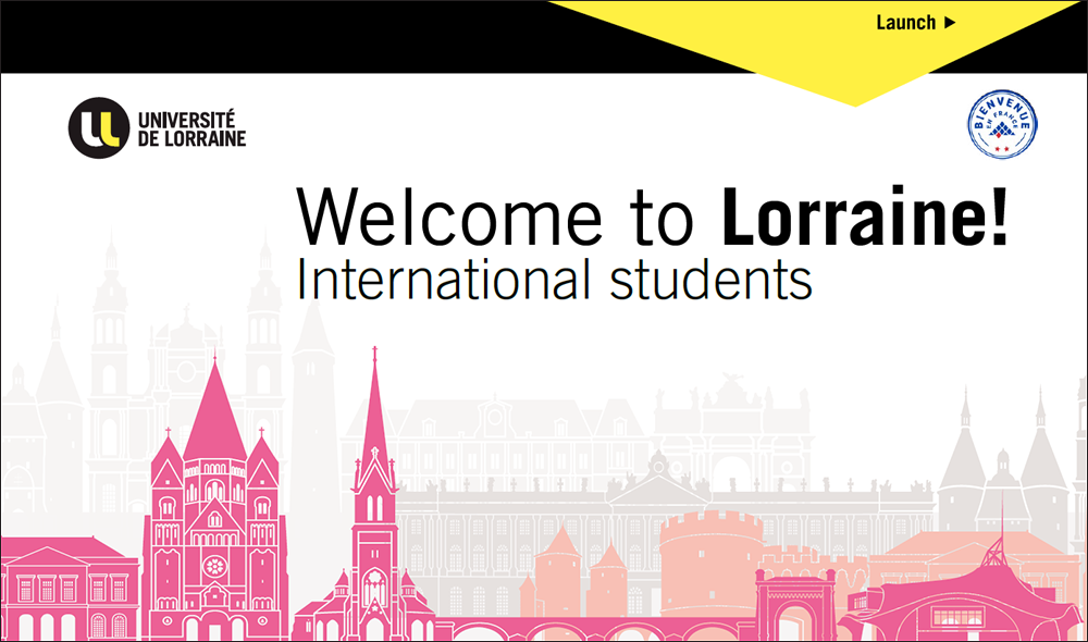 International students Welcome to Lorraine!
